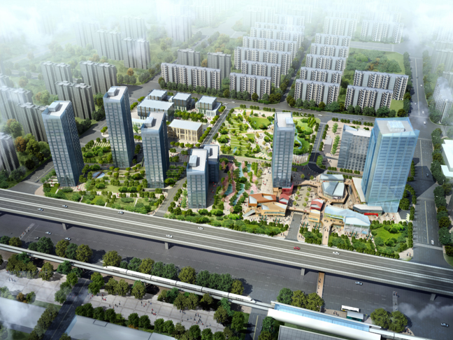某大型城市综合体规划设计文本