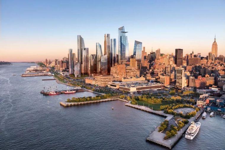 SOM设计美国历史上最大的私人房地产开发项目