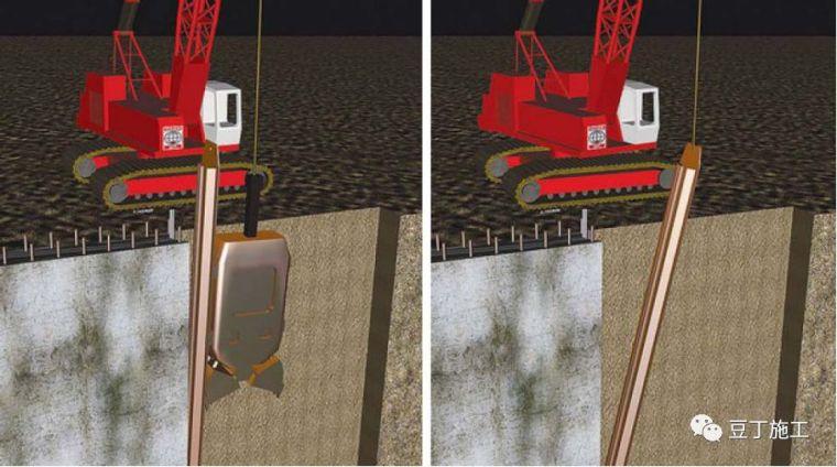 地下连续墙施工过程中,若锁口管被埋,该如何处理?_2