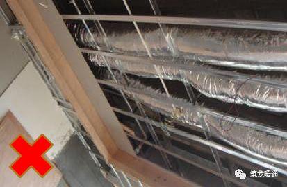 风管安装常见11项质量问题实例,室内机安装质量解析!_15