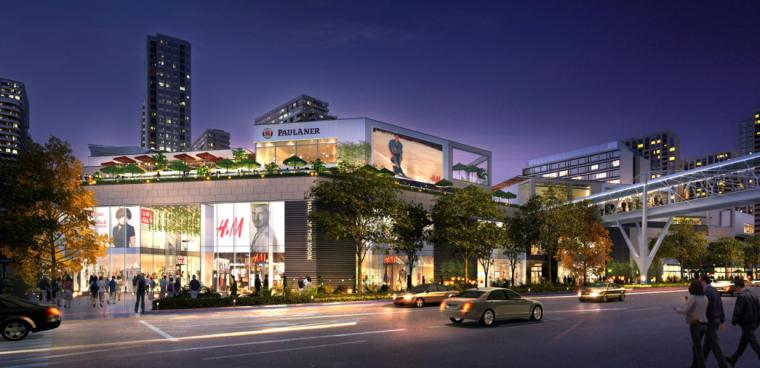 [上海]超现代风格多功能商业建筑设计方案文本(含CAD)_4