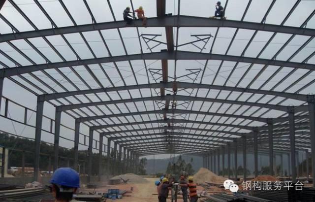 自学钢结构施工方案,方便!