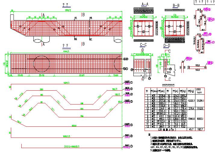 [施工图]先简支后连续5x20m后张法预应力空心一套图纸施工核准的图片