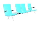 常用公共座椅3D模型下载