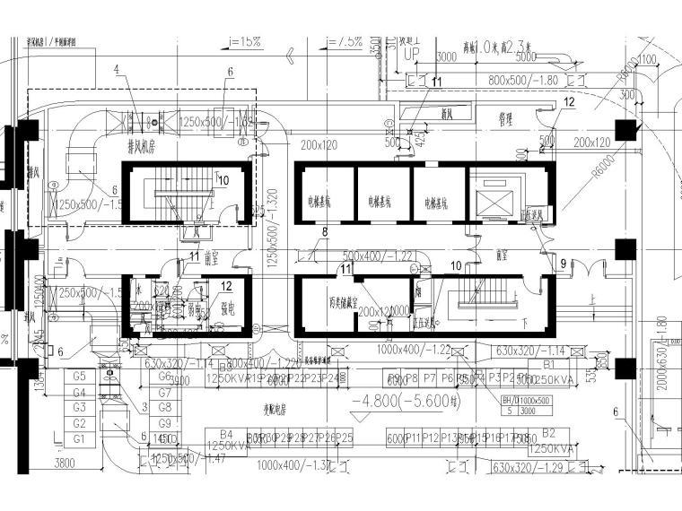 [上海]国际金融中心暖通施工全套图(含冷热源、空调系统、机械通风与排烟系统与节能设计)_7