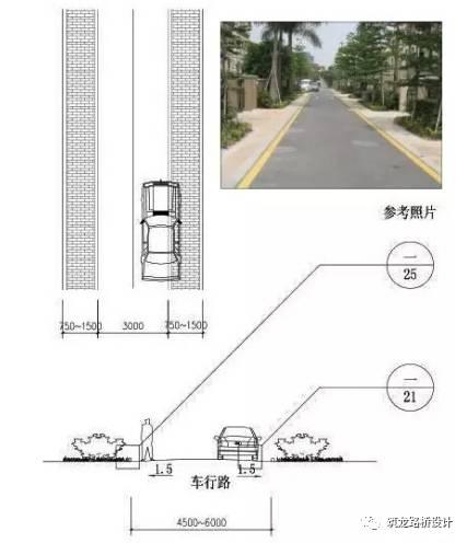 万科住宅内的道路设计,标准和施工做法,都是经验呀!!_12