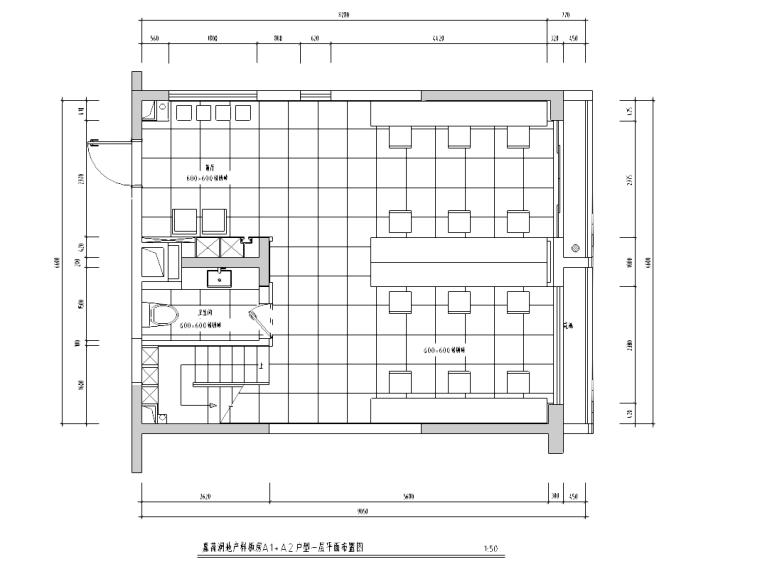 [湖北]武汉某现代风格办公空间施工图及效果图