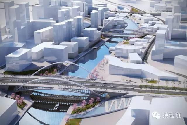 武汉华山3座新桥梁设计