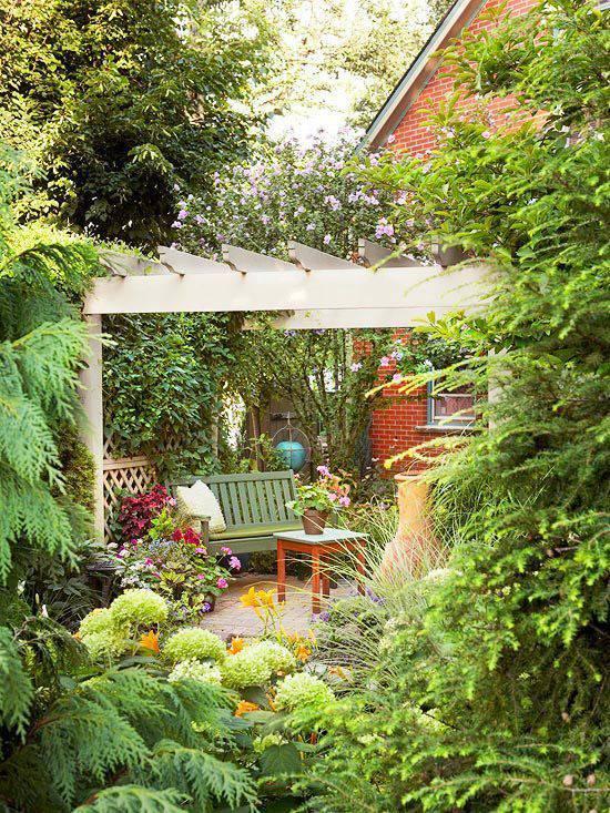 想要一个小院子,花开花落一辈子_8