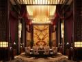 中餐厅超高层高奢华包厢