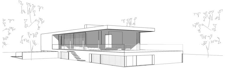 荷兰混凝土板组成的Zeist住宅-19