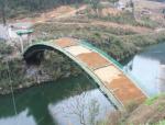 龚溪口大桥桥梁支架的研究与应用