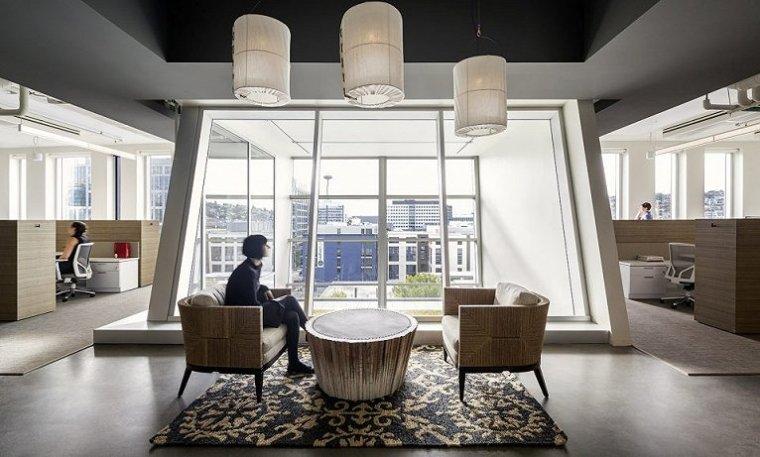 舒适休闲的当代办公空间-10