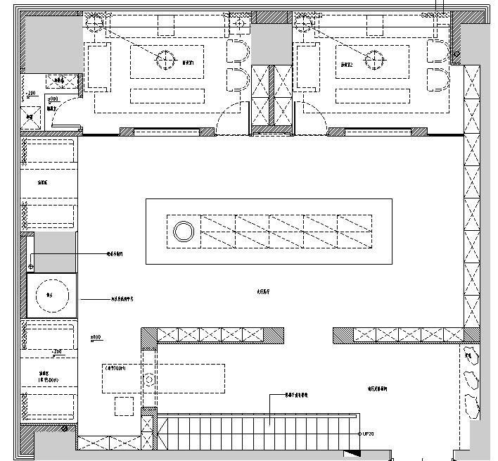 [新疆]360平米璞玉展厅设计施工图(附效果图)