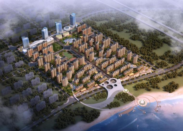 [江苏]简约式新亚洲风格城市综合体建筑设计方案文本