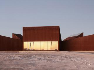 智利沙漠里的绿洲建筑