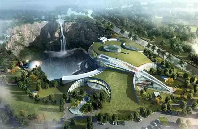 投入20亿的工程奇迹深坑酒店终于开业了,内部设计大曝光!_27