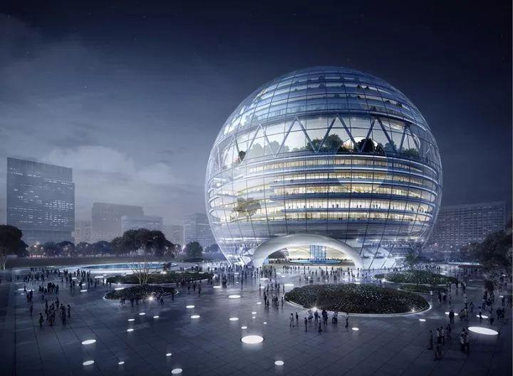 可能在不久的将来,你会看见一个球形的万达广场_2