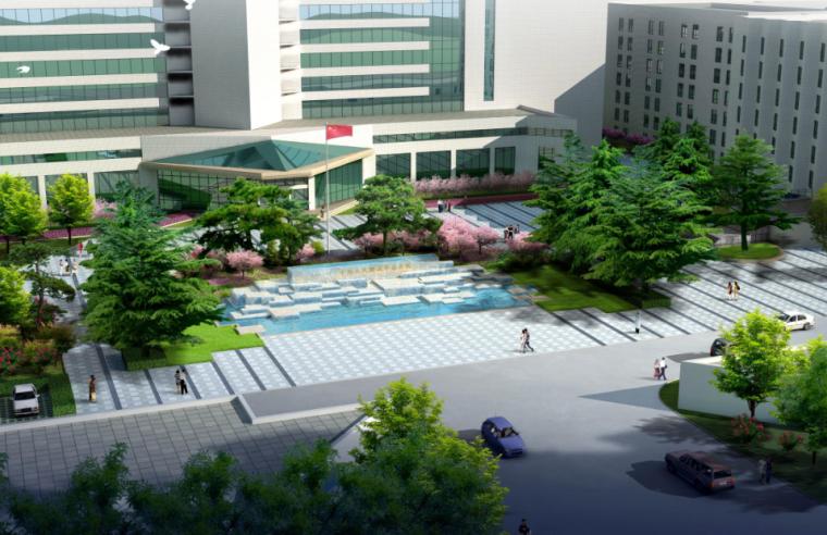 [北京]军队医院园区环境整治设计方案