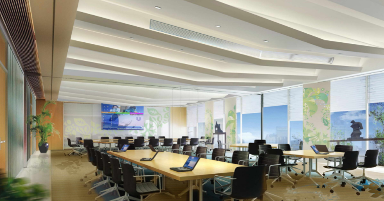 [上海]联合利华研发中心办公空间方案