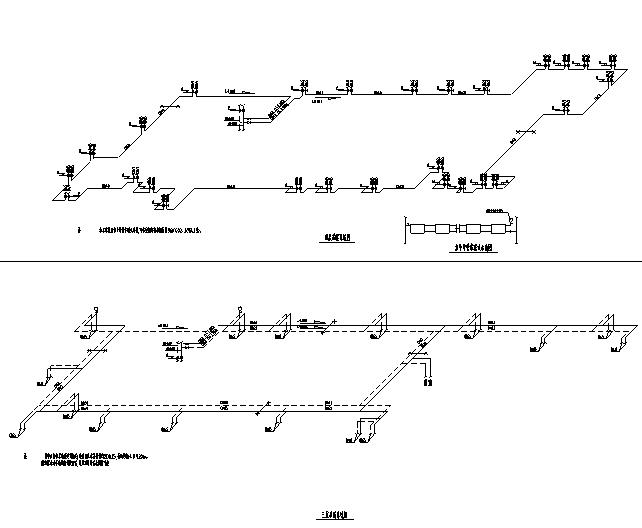 [黑龙江]传媒中心暖通空调设计全套施工图(含焓湿图、人防)