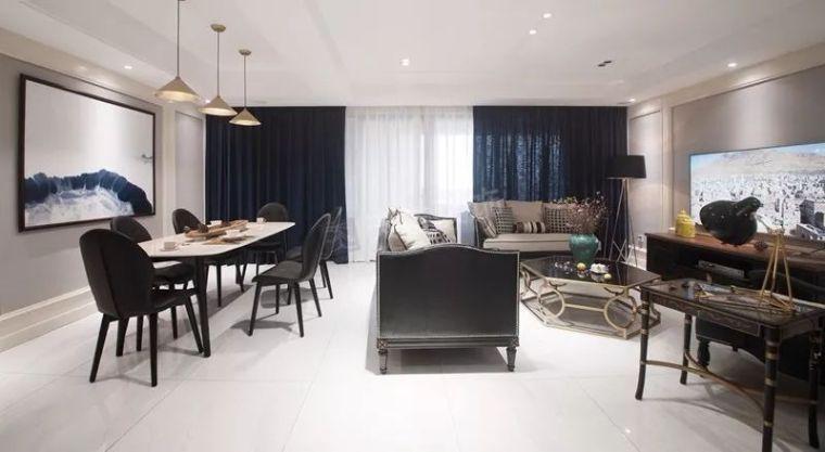 140平米洋房现代法式风格设计