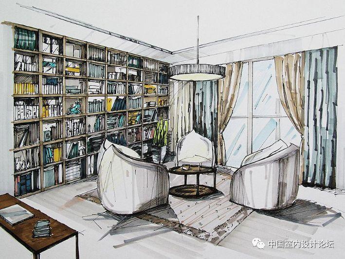 技能 | 室内设计手绘效果图的概念及重要性