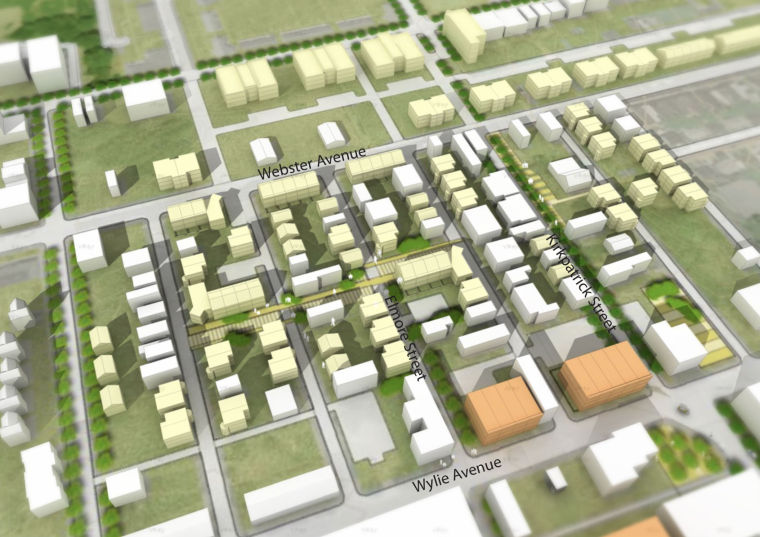 [美国]SASAKI大型居住区GreaterHillDistrict规划设计方案文本