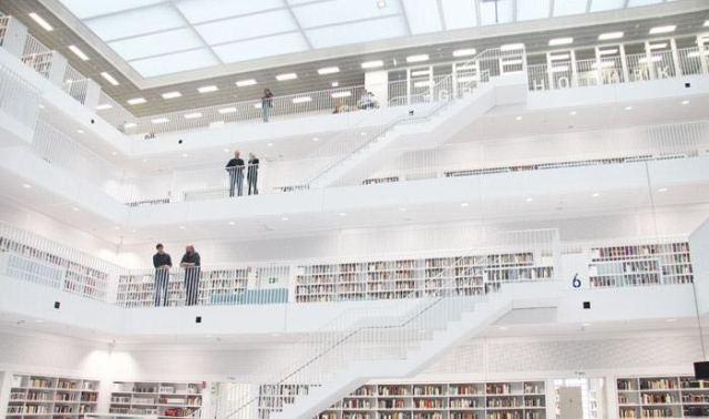 德国斯图尔特城市图书馆第4张图片