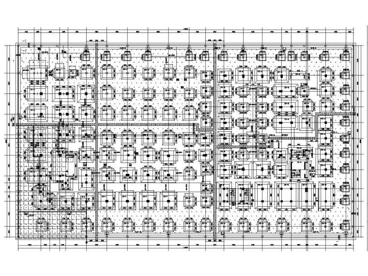 机场双塔办公楼+裙房结构施工图