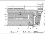 江苏现代中式风格火锅餐厅室内装修设计施工图