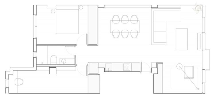 西班牙视觉艺术家的LEApartment公寓改造-11