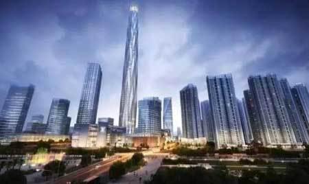 成都绿地中心主塔楼结构设计