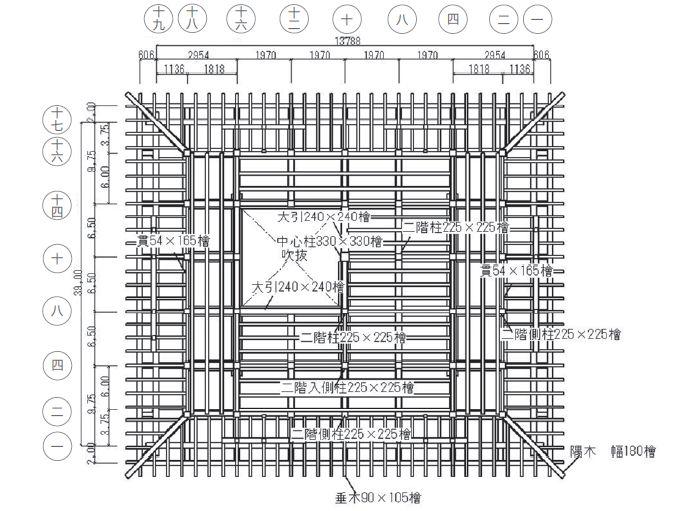 木结构建筑复原记:日本大洲城天守阁修缮_5
