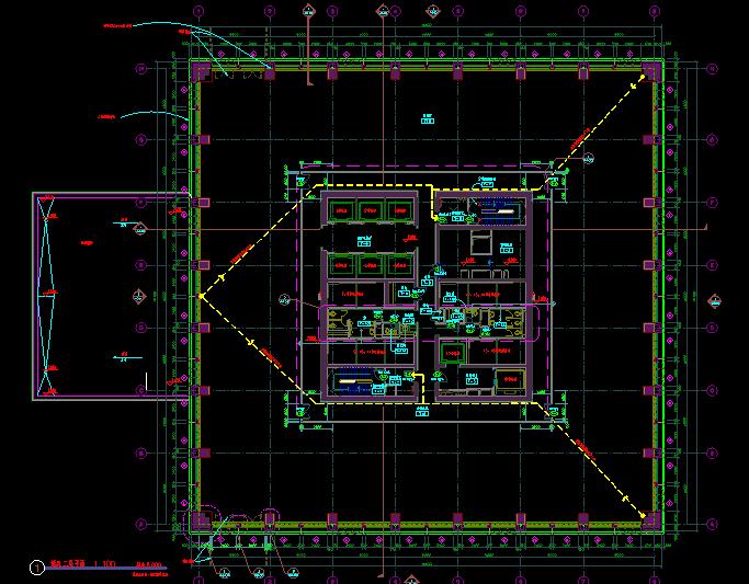 华东设计院——超高层某知名项目归档施工图_4
