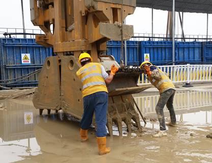 地下连续墙基坑支护施工实例_13