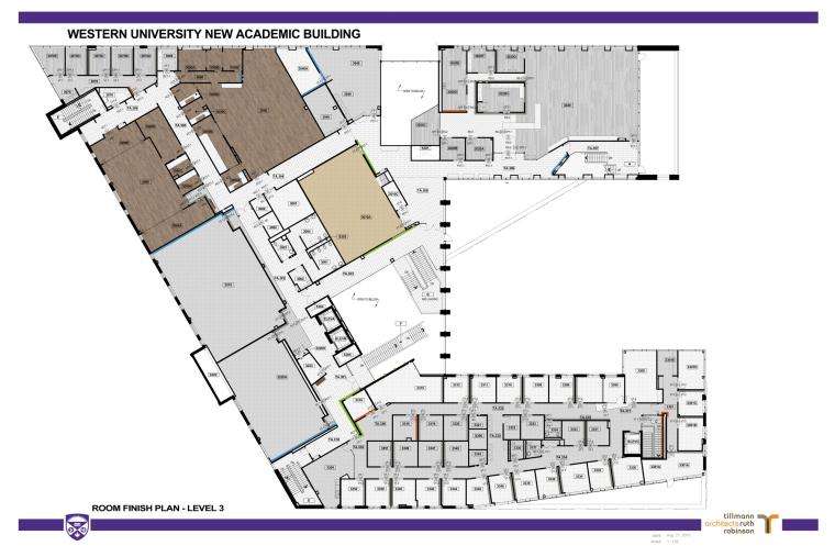 西安大略大学护理学院与信息媒体研究院教学楼-20
