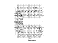 [江苏]7层2000平框架宿舍楼全套施工图(建筑结构水电)