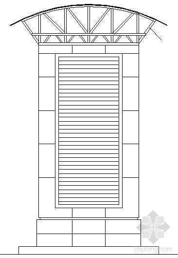造型排风井详图