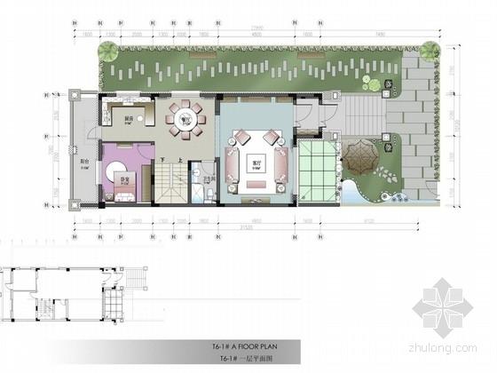 [哈尔滨]法式风格三层联排别墅室内装修图(含实景)