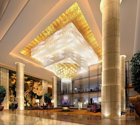 [太原]国际连锁品牌顶级六星级豪华酒店设计方案