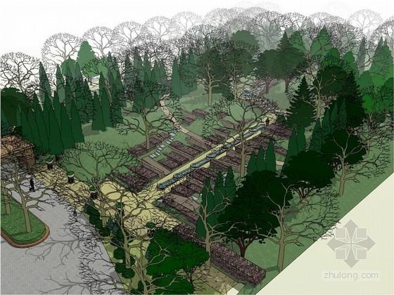 [北京]欧洲贵族别墅庄园景观设计方案