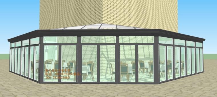 餐厅咖啡厅阳光房设计方案_9