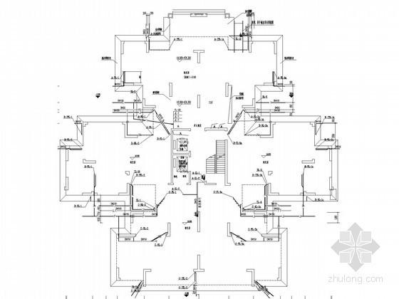 [四川]高层住宅楼及地下车库给排水消防施工图(新规范 气体灭火系统 甲级设计院)