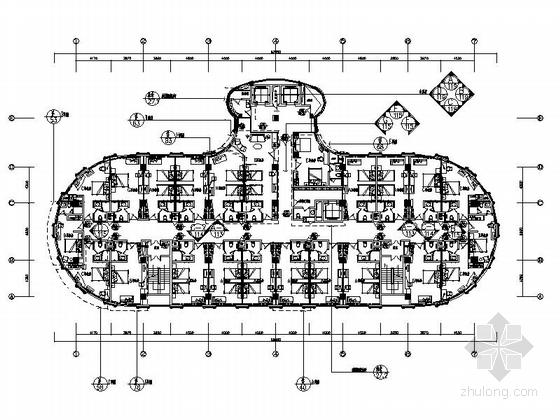 [惠州]现代简约都市风尚精品商务连锁酒店设计装修施工图(含效果实景)