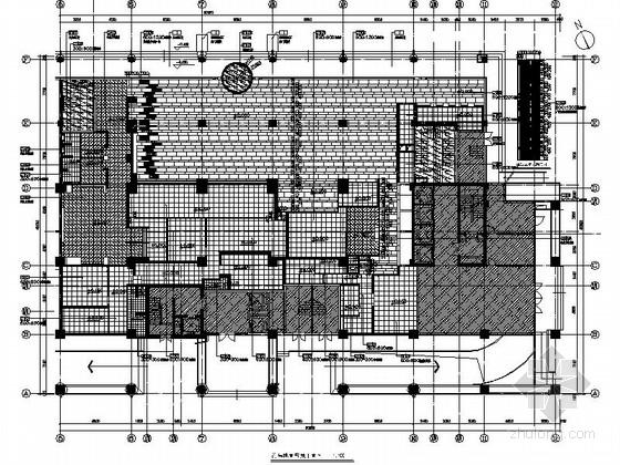 [天津]国际化金融股份制公司现代办公楼装修施工图(含实景及报价表)