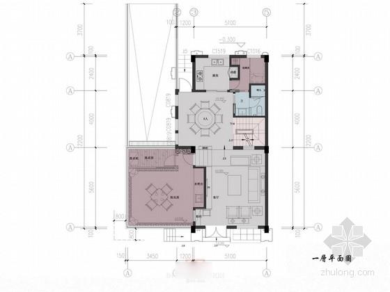 [安徽]古典中式联排别墅样板间方案图