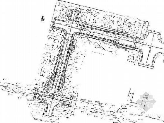 [重庆]特色景观通廊道路设计施工图
