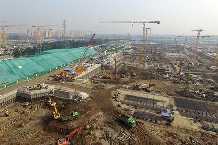 北京副中心主体建筑预计春节前后封顶