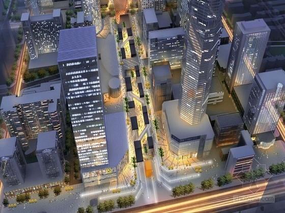 [广东]深圳现代风格商业区规划及单体设计方案文本
